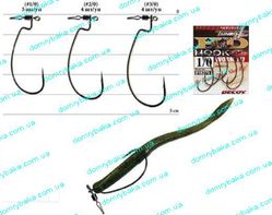 Крючок DECOY Hevidan Hook Worm 117 №3/0 4шт